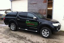 Company Vehicles / Newly branded company vehicles. Check us out for Renewable Energy Solutions