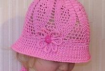 crochet baby hat diagram