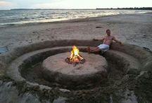 Camping! Beach! Summer!