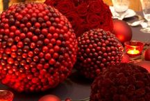 Christmas wreaths and assortie / Christmas