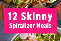Spiralizer Recipes / Healthy spiralizer recipes.. a great alternative to pasta