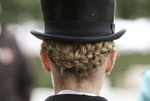 Equstrian hairstyle