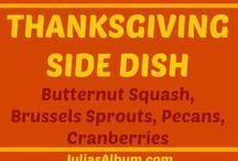 Thanksgiving side disheshealthyrecipes