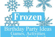 Frozen Party Theme / by Dr Sonia S V