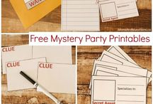 kinderfeest Anke Mystery party