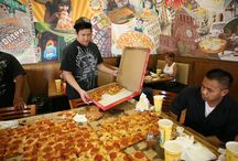 The Giant Sicilian / Guiness World Record holder for largest deliverable pizza!