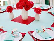 Casamento - Decoração Vermelho