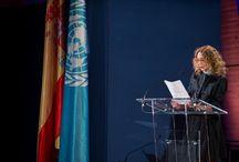 U || UNESCO / Marisa Berenson  UNESCO Goodwill Ambassador, since 1994  UNESCO Artiste for Peace, since 2001  UNESCO for Education, Science, Culture