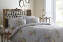 Vantona Prints / Beautiful prints from British brand Vantona, since 1929. Classic florals with modern colours, perfect for any home!