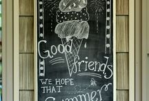 Chalkboard Art / by Kaia Thoreson