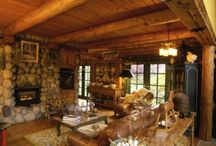 Lovin' log & Post & Beam homes! / by Janis Buffington