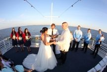 Destin Wedding Venues | Matthew and Chelsea on Solaris Yacht April Wedding
