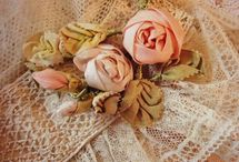 Fabric and Ribbon Flowers