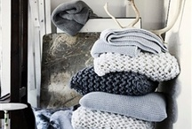 Knitted throws / by Sandra L.