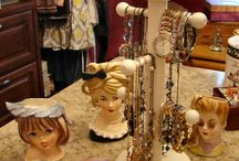 Carousel Storage Tree - Coffee Mugs or Jewelry / I love that this rotates and I can access all my jewelry and mugs so easily!!  One goes on my kitchen island and one goes in my glamour closet!!