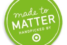"""Made to Matter – Handpicked by Target Collection / Hyland's is honored to be one of the 17 natural, organic and sustainable brands selected for """"Made to Matter – Handpicked by Target collection / by Hyland's, Inc."""