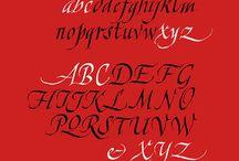 Itali calligraphy