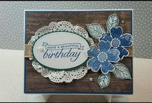 Stampin' Up! Birthday Blossoms Flower Shop Stamps Pansy Punch