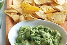 Dips & Chips / Could make dips for carrot sticks etc....You can also make homemade tortilla chips from rolled out bread but could be fiddly