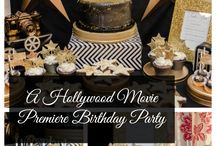 Hollywood Movie Themed Birthday Party