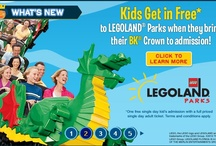 LEGOLAND California Promotions / by LEGOLAND California