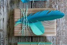 Giftwrapping/kedootjes inpakke