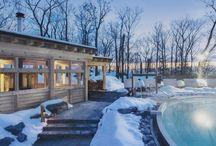 Winter spas