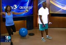 WBTV - TV Fitness Segments / ~ MOST RECENT - BUTT Blasters - August 30, 2014 ~ Boxing Bootcamp - June 21, 2014 ~ Chair Exercise Variety - May 10, 2014 ~ Tire Workout-Part of Nettie's ULTIMATE Boot Camp Series! - April 26, 2014