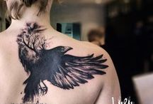 crow tatto