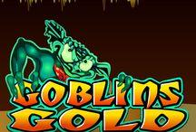 """Goblins Gold / Addentrati nella grotta oscura e fatti aiutare da una lanterna ma soprattutto dagli spiritelli (i """"goblin"""") a trovare le pepite d'oro nascoste nella simpatica slot a rulli Goblins Gold. Provala su Voglia di Vincere, il casinò autorizzato da AAMS, e potresti vincere fino a 3.000 monete."""