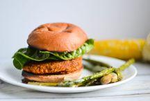 Vegetarian/Vegan Burgers!