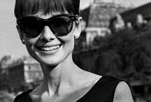 [ ICONIC STYLE ] / Happy girls are the prettiest ~ Audrey Hepburn.