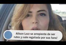 Allison Lozz se arrepiente de ser rubia ¡y sale regañada por sus fans!