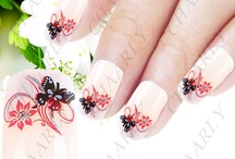 Girls Finger nails