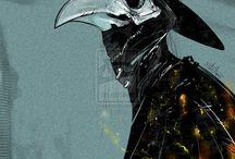 Plague doktors/ doktors of death