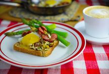 Breakfast / Start the day right with great breakfast! #breakfastbyahappycook #breakfast