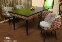 Dining Set / Our specialty covers armchair, dining chair, table, sofa and many miscellaneous items made only from qualified materials of rattan furniture and skilled craftsmen.