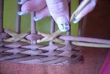 pletení košíku