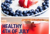 4th of July Fun / Holiday treats, tips, and ideas to celebrate the US Independence Day.