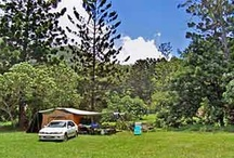 Great Outdoors / Camping, tips, and camp spots, including places listed in our camping grounds directory for the Northern Rivers, Gold Coast and Scenic Rim region at http://www.bigvolcano.com.au/database/campgrounds.htm