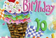 Birthdays and sayings