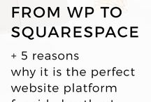 blogging : squarespace / Though I build WordPress sites exclusively, I recognize that lots of people choose WordPress over SquareSpace, a fully hosted platform for blogging and websites. This board aims to share some links with information on how to use your SquareSpace site effectively.   / by Sandee Jackson