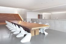 Vitra _ Workspaces / Collection of Vitra products used in Work spaces / by Aura Objects