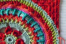 crotchet square from round