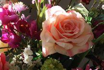 Silk Flower Inspiration / Silk Flower Bouquets created by Estilo Fabulosa
