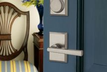 Door Hardware / Door hardware is the finishing touch to your door.  In addition to being functional, it adds another element of style and design to your door.