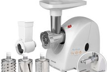 Meat Grinders / http://www.sencor.eu/kitchen/food-preparation/meat-grinders