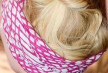 pañuelos y sombreros para proteger el pelo en el desirto