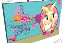 Maletines Plásticos Miss Bunny / Línea Escolar Primavera Regresa a Clases con TODO