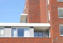 55 Service appartement Oosterhout (N.B.) / Toegepast: FibreCem Greycolour Emotion | Kleur: Staubgrau 410 (RAL 7037) Toegepast: FibreCem Fullcolour Emotion | kleur: Grauweiss 418 (RAL 9002)